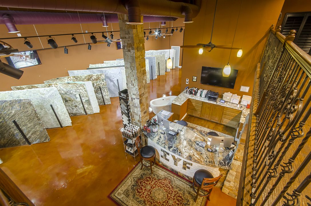 IYF Granite Showroom Aerial 2