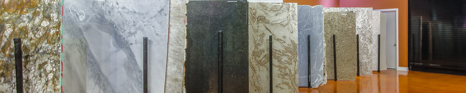 Over 40 Granite Slabs In-Stock